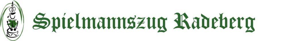 Logo und Schriftzug des Spielmannszug Radeberg